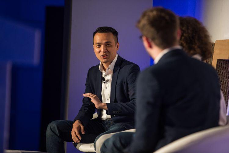 Lit Fung, directeur général de Geek Plus Robotics